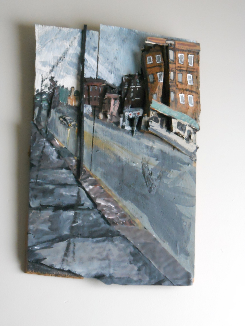 Rainy Street, Wilkinsburg