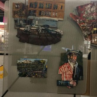 Paintings at library 2